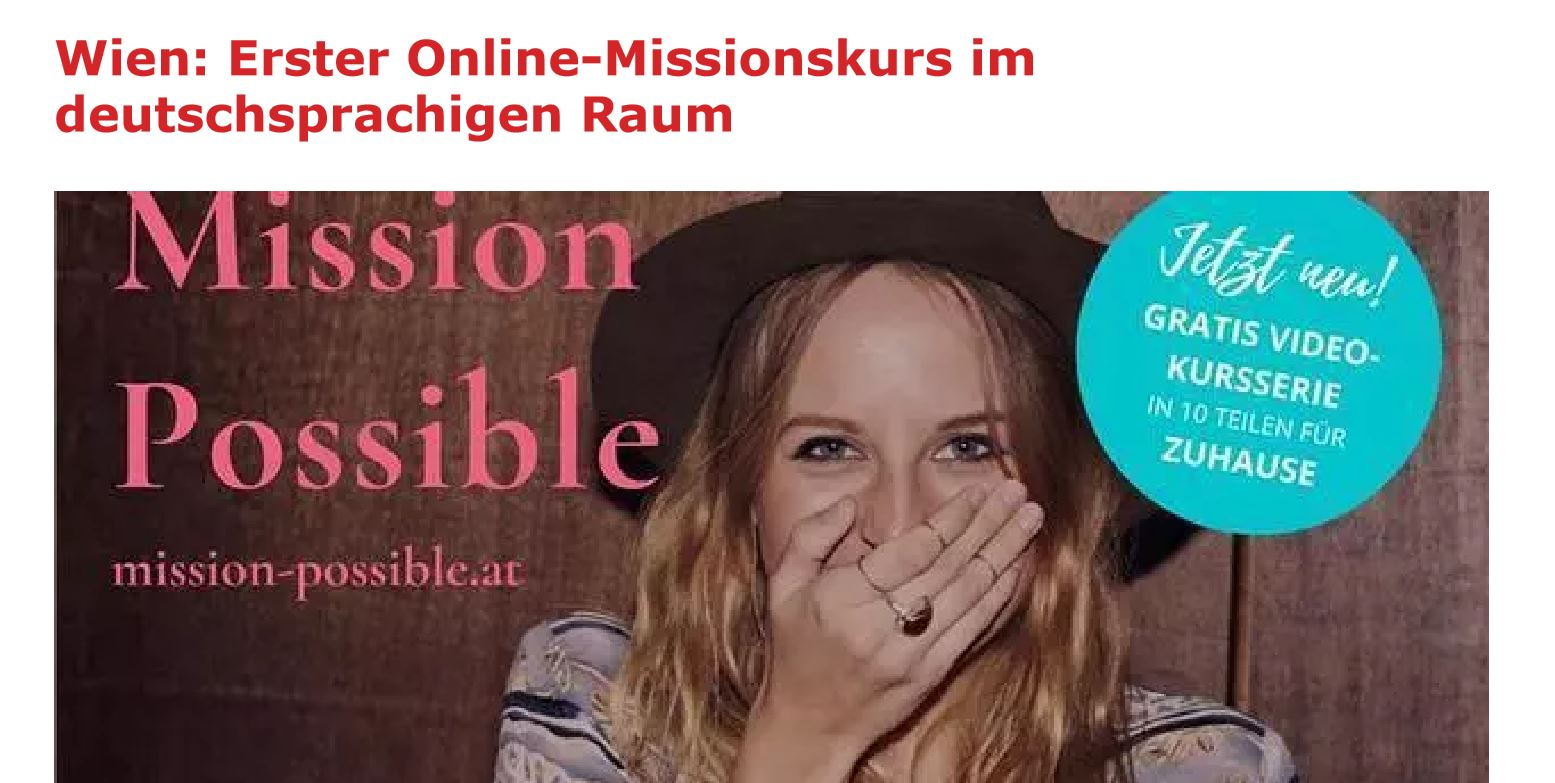 kathpress mission Possible